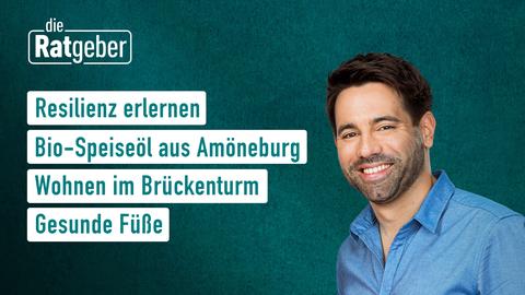 Themen sind: Resilienz erlernen, Bio-Speiseöl aus Amöneburg, Wohnen im Brückenturm, Gesunde Füße,