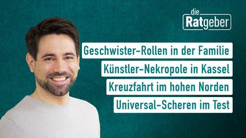 Themen sind u.a.: Geschwister-Rollen in der Familie, Künstler-Nekropole in Kassel, Kreuzfahrt im hohen Norden, Universal-Scheren im Test.