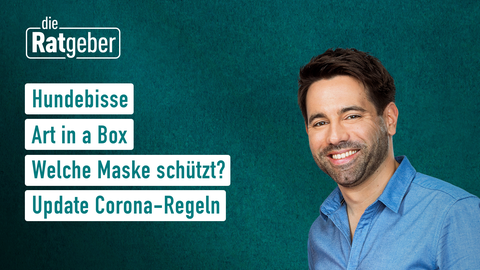 Themen sind u.a: Hundebisse, Art in a box, Welche Maske schützt?, Update Corona-Regeln