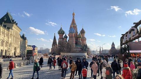 Basilius Kathedrale auf dem Roten Platz in Moskau.