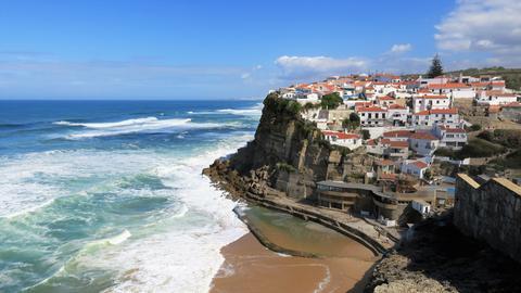 Von Nazaré bis kurz vor Porto