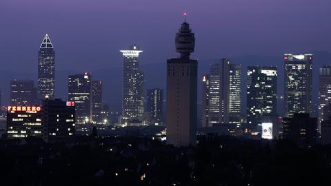 Henninger Turm in Frankfurt