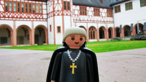 Playmobil im Kloster Eberbach