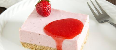 Erdbeer-Schnitte