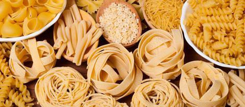 gemischte Pasta