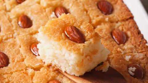 Harissa-Grießkuchen