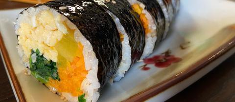 Kimbap - veganes Sushi