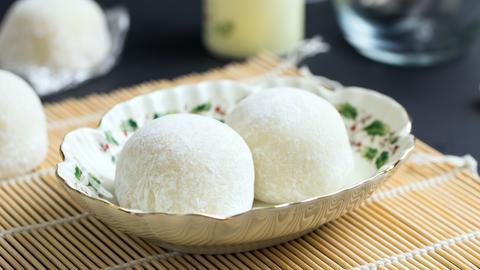 Mochi - japanische Reiskuchen
