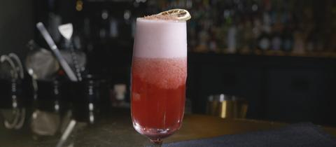 "Cocktail ""Süße Versuchung"" im Glas"