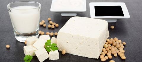 Tofu und Sojamilch selbstgemacht
