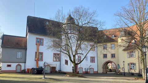 Renaissance-Schloss aus dem 17. Jahrhundert in Nidda.