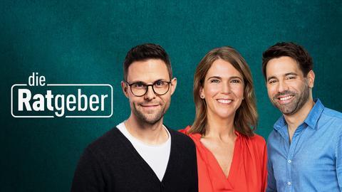 Sie moderieren die Ratgeber: Anne Brünning, Kai Fischer und Danie Johé