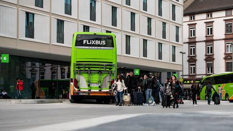 Flixbus in Frankfurt
