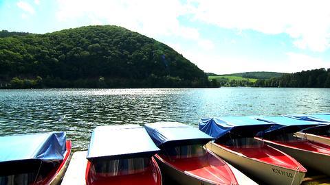 Boote am Diemelsee