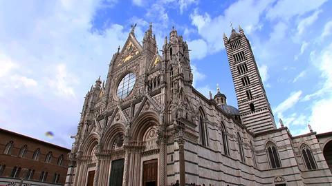 Der Santa Maria Dom in Siena