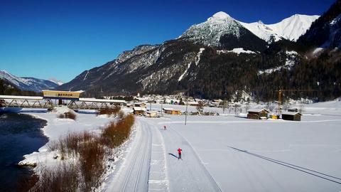 Winterlandschaft im Lechtal