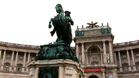 Eine Statue in Wien
