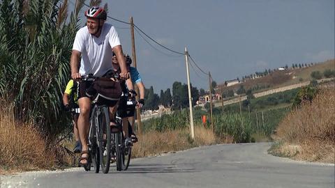 Radfahren auf Sizilien