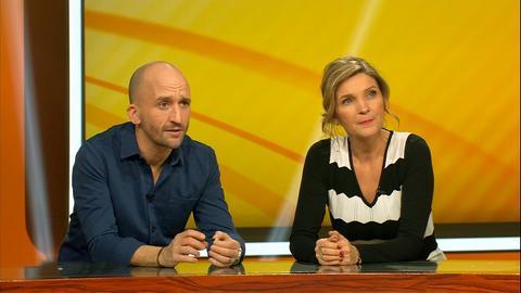 Kandidaten dings vom dach Susanne Pätzold und Markus Barth