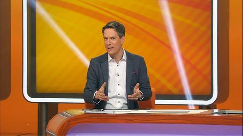 Kandidaten dings vom dach Moderator Sven Lorig