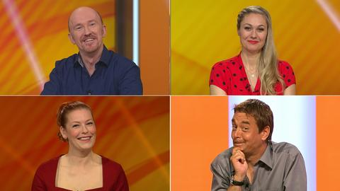 Staffel 22 Folge 171: Rateteam: Ingo Oschmann, Ruth Moschner, Enie van de Meiklokjes, Peter Nottmeier