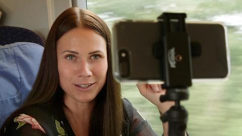 Louisa Dellert erreicht mit ihrem Instagram-Account täglich rund 330.000 Menschen.
