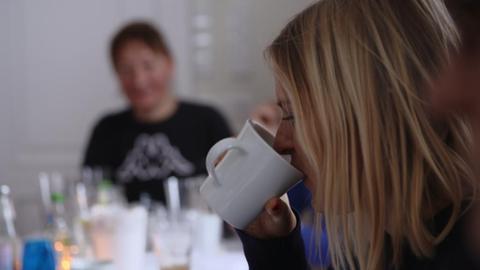 Fasten, Tee trinken