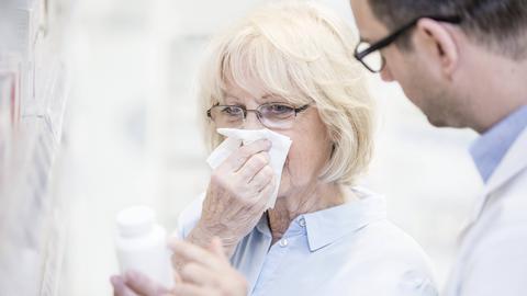 Entzündungssysndrom, Grippe, Krank, Arzt