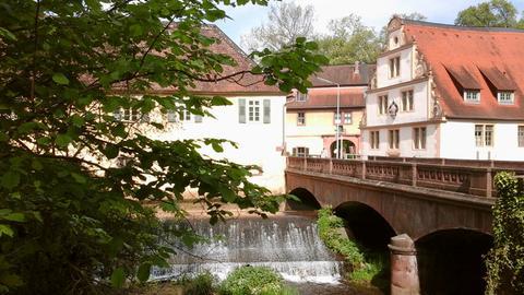 Blick auf Schloss Fürstenau in Steinbach.