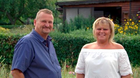 Volker und Steffi Höfner. Ein Leben ohne Schrebergarten ist für sie nicht vorstellbar.