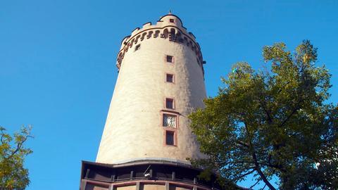 Blick auf den Eschenheimer Turm.