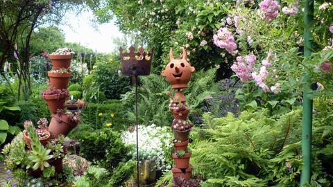 Erlebnis Hessen: Bad Homburger Gartenfreuden Privatgarten in Bad Homburg