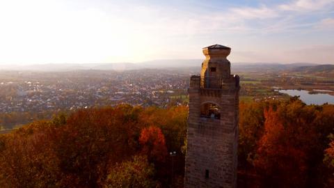 Der Bismarckturm bei Eschwege.