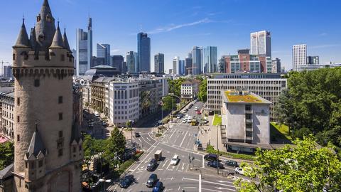 Frankfurts Eschenheimer Tor