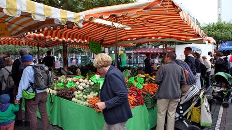 Erlebnis Hessen Frankfurts Bauernmarkt