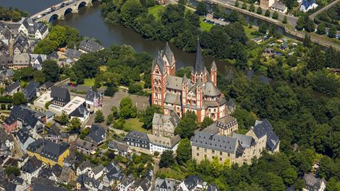 Blick auf den Limburger Dom