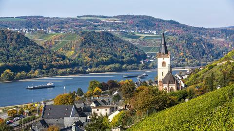 Lorch im Rheingau, UNESCO Welterbe Oberes Mittelrheintal.