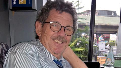 Peter Bäuchle fährt seit über 36 Jahren in Frankfurt U-Bahnen.