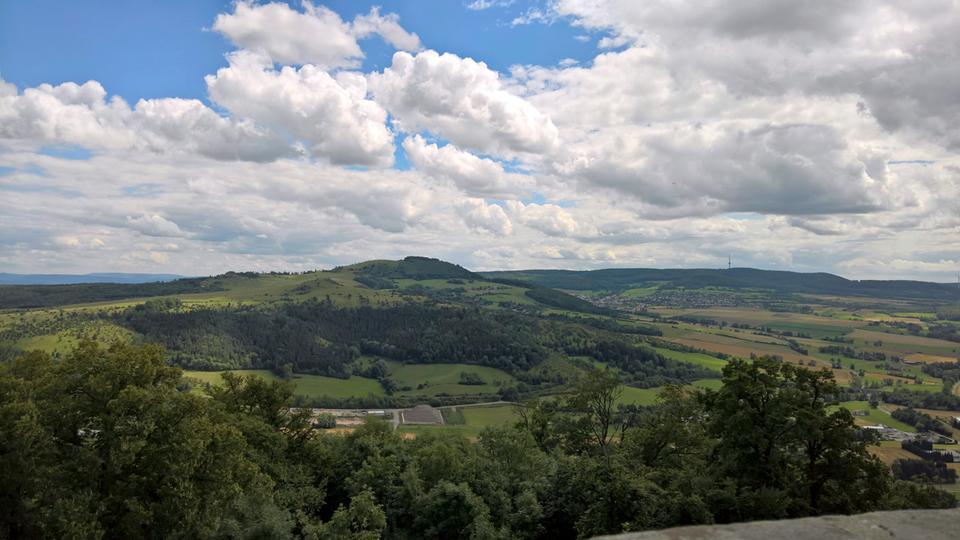 Unterwegs auf dem Habichtswaldsteig