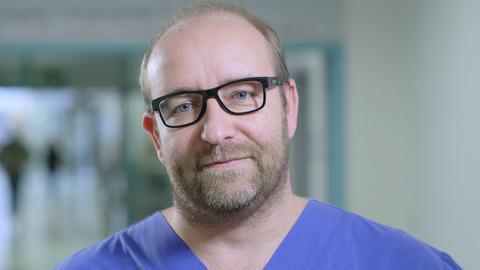 Der Arzt Mario Berwald