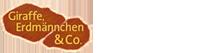"""Logo """"Giraffe, Erdmännchen und Co."""""""