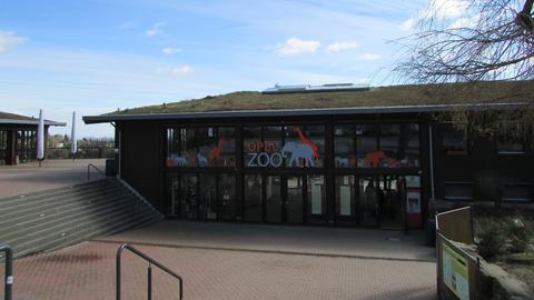 Opel-Zoo Eingang