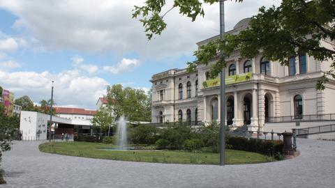Vorplatz Zoo Frankfurt