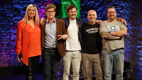 """Das hr Comedy Festival mit Mundstuhl, Phil Laude und """"Herr Schröder"""" - moderiert von Mirja Regensburg"""