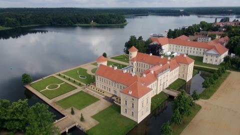 Schloss Rheinsberg im Ruppiner Land.