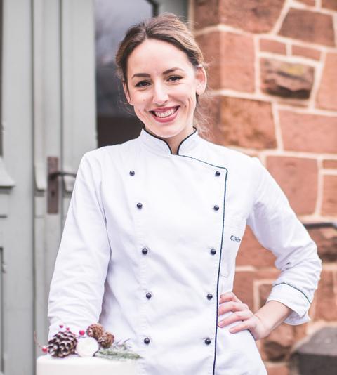 Carolin Klösgen, Konditorin aus dem Restaurant La Vette in Marburg