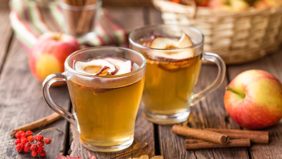 Rezept: Heißer Apfelwein gegen Erkältung