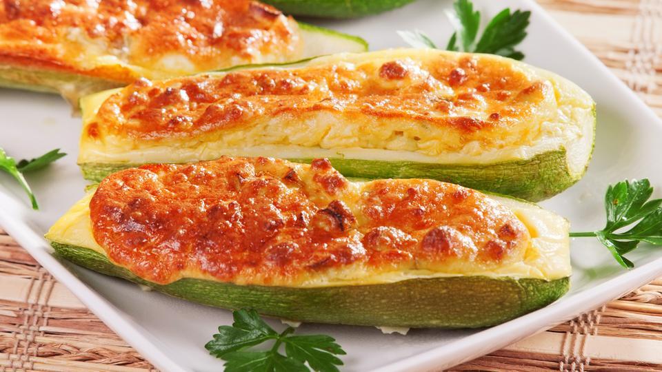 Rezept zucchini gefullt couscous