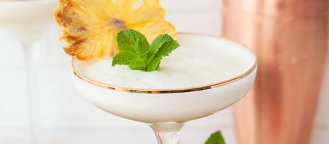 Cocktail Ananas Minze