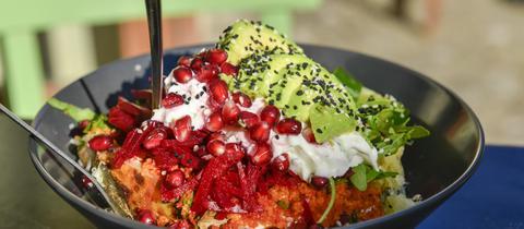 Wachmacher - Amaranth-Salat